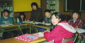 津山市中村教室(勝北町)・こども英会話クラス