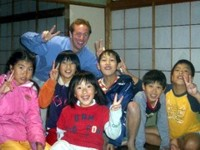 Mike with Kuse class students