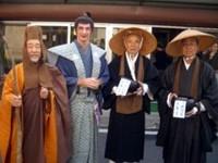 Mike at Joto Mukashi-machi Matsuri
