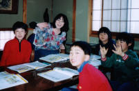 アナ先生と勝山教室小学生クラス